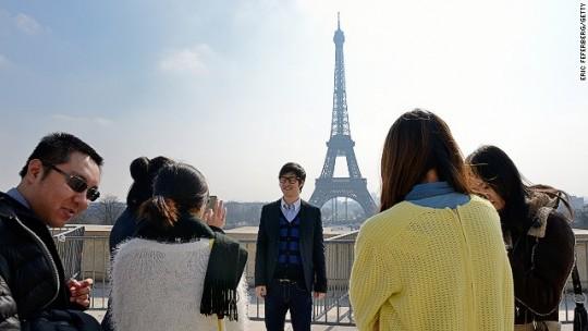 Le boom des touristes chinois