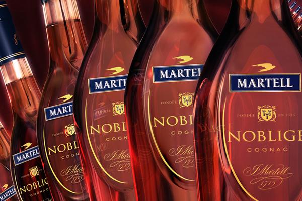 Martell est le nom que les touristes entendent beaucoup!