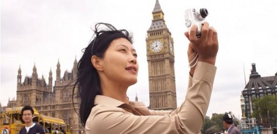 Groupe de touristes chinois