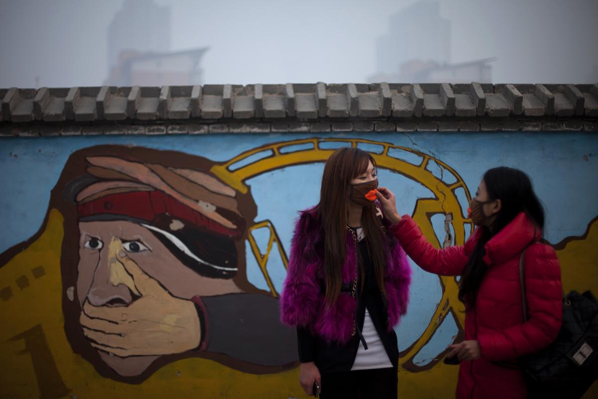 APTOPIX China Air Pollution