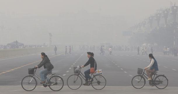 La pollution en Chine fait baisser le tourisme
