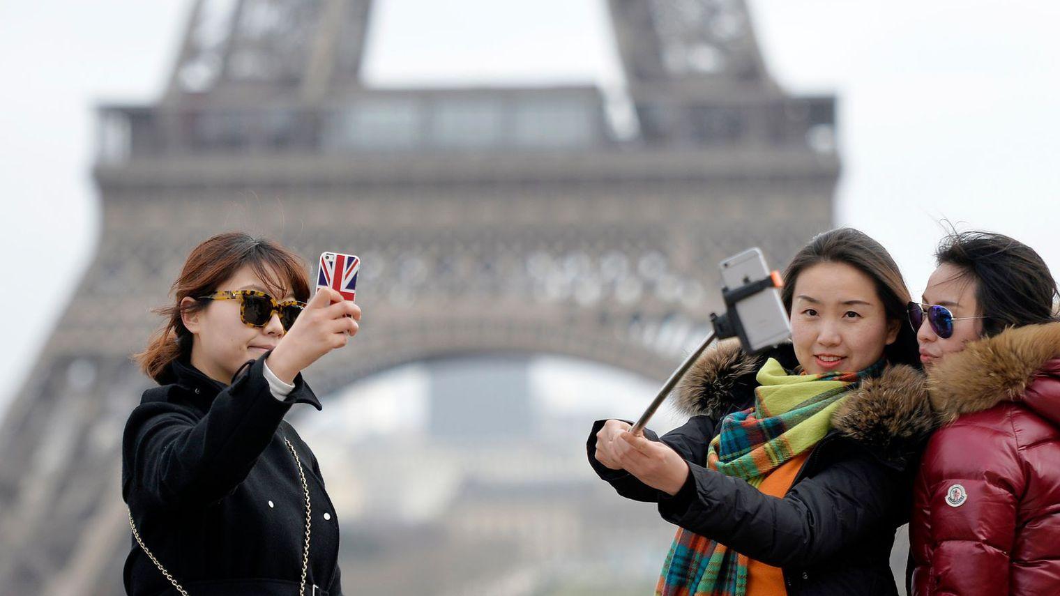 Touristes chinois Paris