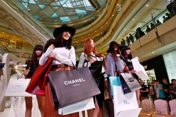 Les consommateurs chinois préfèrent les marques de renommée internationale