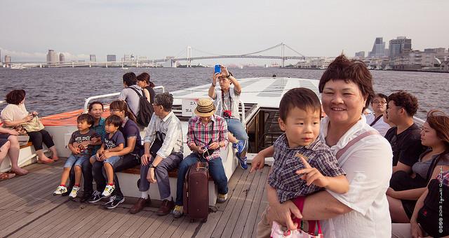Le mauvais comportement des touristes chinois