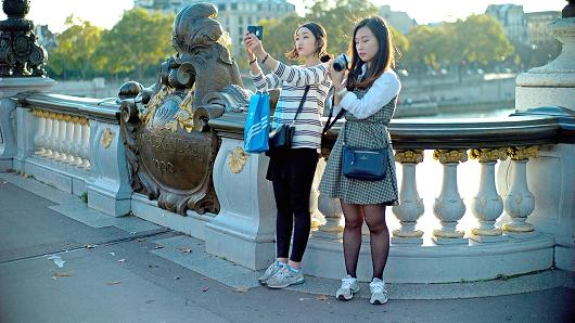 voyageurs chinois