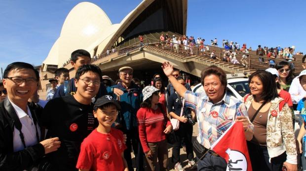 La Chine est sur le point de devenir le plus grand marché touristique de l'Australie