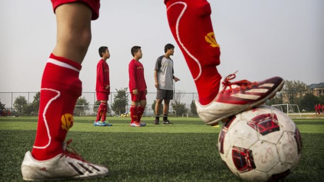 La Chine va devenir une « superpuissance» du football d'ici 2025
