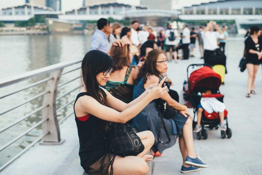 touristes chinois abroad