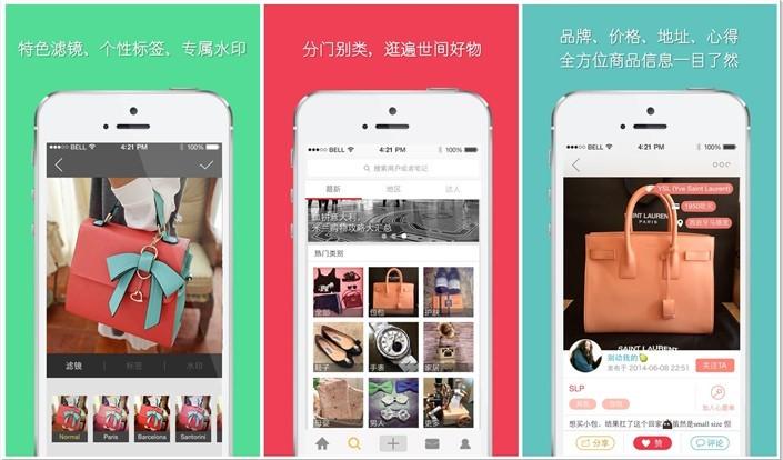 Le succès de l'application chinoise Xiao Hong Shu
