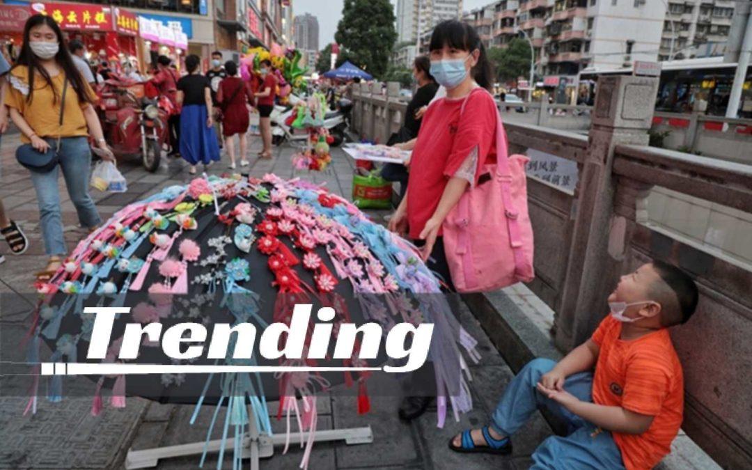 Le retour des vendeurs de rue en Chine